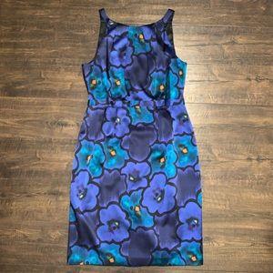 Elie Tahari Womens Sleeveless Sheath Dress Sz 10